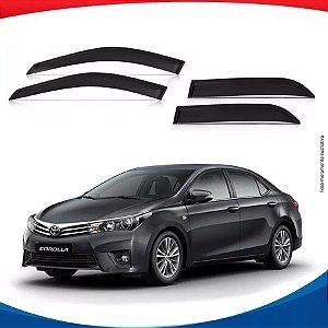 Calha de Chuva Toyota Corolla 4 Portas 14/...