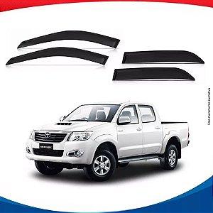 Calha de Chuva Toyota Hilux Pick Up 4 Portas 16/...