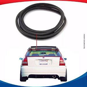 Borracha Vidro Traseiro Vigia Honda Civic Hatch 96/00