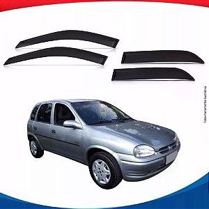 Calha de Chuva Chevrolet Corsa Classic Hatch 4 Portas 95/...