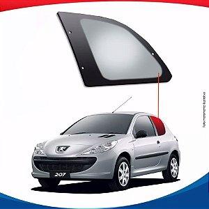 Janela Móvel Traseira Lado Esquerdo Peugeot 207 09/14