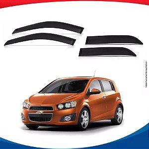 Calha de Chuva Chevrolet Sonic Hatch 4 Portas