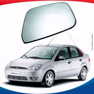 Vidro Óculos Traseiro Lado Esquerdo Ford Fiesta Amazon Sedan