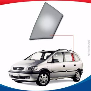 Vidro Óculos Traseiro Esquerdo Porta Chevrolet Zafira