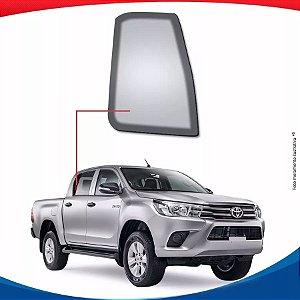 Vidro Óculos Traseiro Direito Toyota Hilux Pick-up 16/...