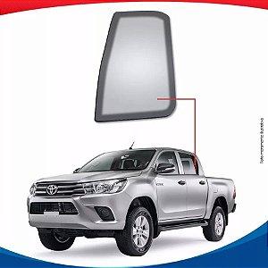 Vidro Óculos Traseiro Esquerdo Toyota Hilux Pick-up 16/...
