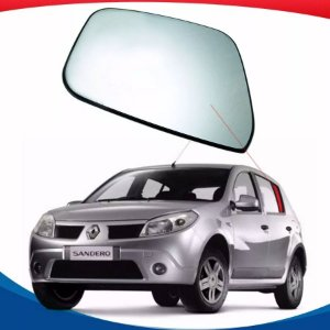 Vidro Óculos Dianteiro Lado Esquerdo Renault Sandero