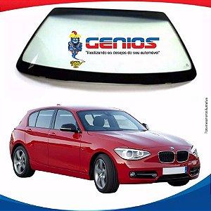 Parabrisa Bmw Série 1 Hatch 12/16 Vidro Dianteiro Com Senso, Connected Drive e Com logo na grade