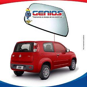 Vidro Porta Lado Direito Fiat Uno Vivace 2 Portas 11/16