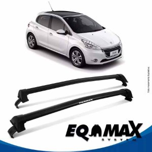 Rack Peugeot 208 4P New Wave 15/16 preto