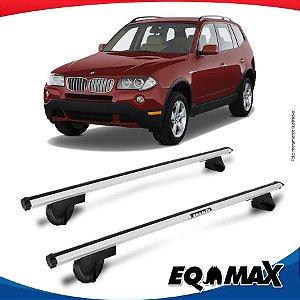 Rack Teto Alpha Aluminio Prata BMW X3 03/09