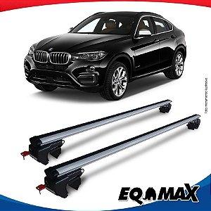 Rack Teto Sigma Aluminio Prata BMW X6 08/10