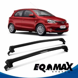 Rack Eqmax Etios Hatch New Wave 13/16 preto