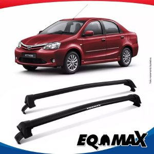Rack Eqmax Toyota Etios Sedan New Wave 14/15 Preto