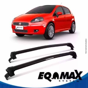 Rack Eqmax Fiat Punto 4P New Wave 07/15 Preto