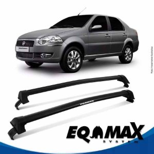 Rack Eqmax Fiat Siena EL Essence 08/14 New Wave preto