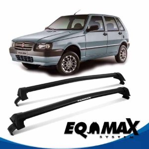 Rack Eqmax Fiat Uno Mille New Wave 05/13 preto