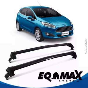 Rack Eqmax Fiesta Novo Hatch Nacional New Wave 14/15 preto