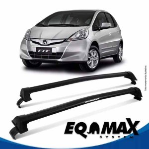 Rack Eqmax Honda Fit New Wave 09/13 preto