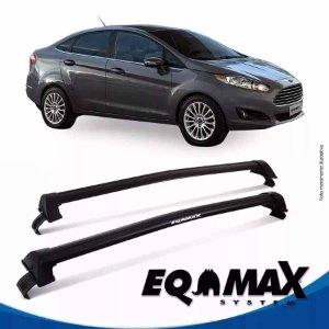Rack Eqmax Ford New Fiesta Sedan New Wave 11/13 prata
