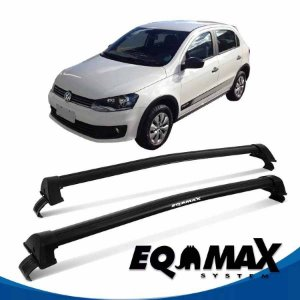 Rack Eqmax Vw Gol Track G6 New Wave 4 Pts 12/14 preto