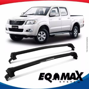 Rack Eqmax Toyota Hilux 4P New Wave 13/15 Preto