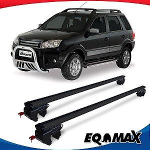 Rack Teto Sigma Aluminio Preto Ford Ecosport 10/12