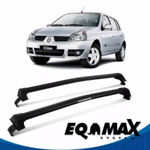 Rack Eqmax Clio Hatch 4P New Wave 00/16 preto