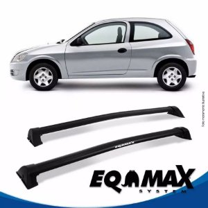 Rack Eqmax Chevrolet Celta 2 Pts Wave 00/11 preto
