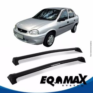 Rack Eqmax Chevrolet Corsa Classic Sedan 4 Pts Wave 94/15 preto