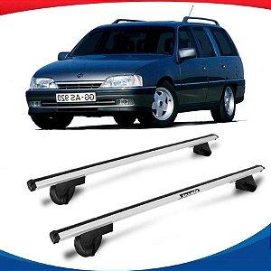 Rack Teto Alpha Aluminio Prata Chevrolet Suprema 93/96
