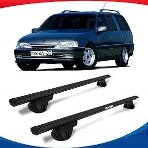 Rack Teto Alpha Aluminio Preto Chevrolet Suprema 93/96