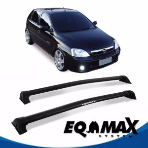 Rack Eqmax Chevrolet Corsa Premium Hatch 4 Pts Wave 02/12 preto