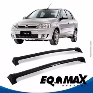 Rack Eqmax Chevrolet Corsa Premium Sedan 4 Pts Wave 02/12 preto
