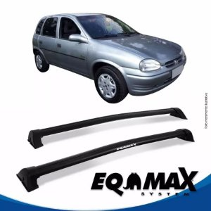 Rack Eqmax Chevrolet Corsa Wind/Super Hatch 4 Pts Wave 94/01 preto