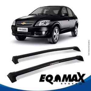 Rack Eqmax Chevrolet Prisma Wave 07/12 preto