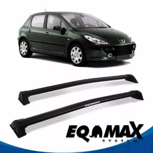 Rack Eqmax Peugeot 307 Hatch 4P Wave 02/12 preto