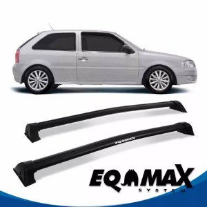Rack Eqmax VW Gol G3 e G4 2 Pts Wave 99/14 preto