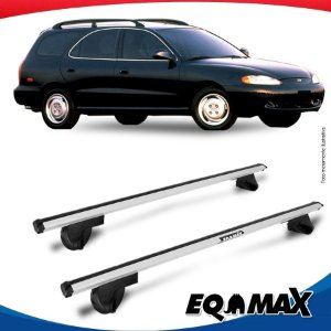 Rack Teto Alpha Aluminio Prata Hyundai Elantra Wagon 96/99