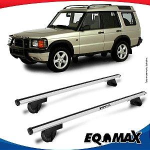 Rack Teto Alpha Aluminio Prata Land Rover Discovery 96/03