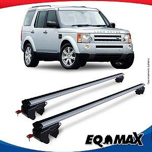Rack Teto Sigma Aluminio Prata Land Rover Discovery 04/09