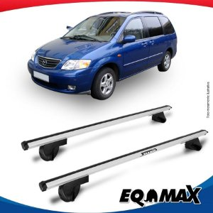 Rack Teto Alpha Aluminio Prata Mazda MPV 96/03