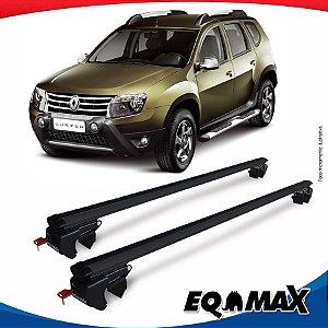 Rack Teto Sigma Aluminio Preto Renault Duster 12/14