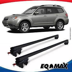 Rack Teto Sigma Aluminio Preto Subaru Forester 09/11