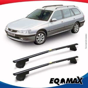 Rack Teto Alpha Aço Peugeot 406 Break Wagon 97/99