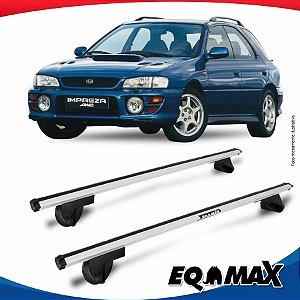 Rack Teto Alpha Aluminio Prata Subaru Impreza 93/00