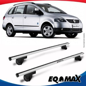 Rack Teto Alpha Aluminio Prata Volkswagen Space Fox 06/14
