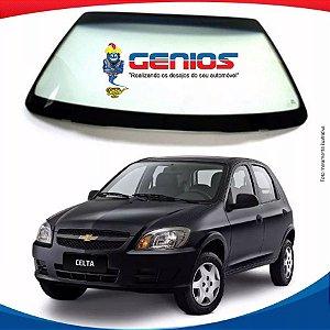 Parabrisa Chevrolet Celta 00/16 Com Antena Vidro Dianteiro