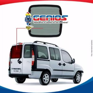 Vigia Térmico Esquerdo (Grande) Fiat Doblo Vidro Traseiro
