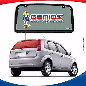 Vigia Liso Ford Fiesta Hatch 03/11 Vidro Traseiro